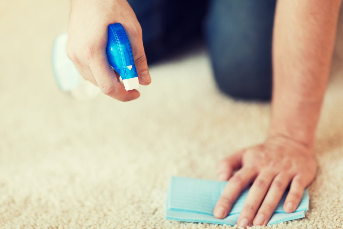 how to get old stains out of a carpet